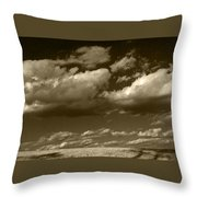 I Really Don't Know Clouds At All Throw Pillow