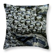 I See Bubbles Throw Pillow