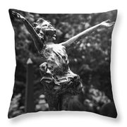 I Shall Be Released Throw Pillow