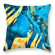 I Should Have Said Goodbye 2 Throw Pillow by Angelina Vick