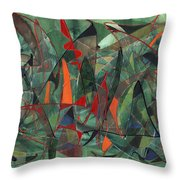In The Hedgerow Throw Pillow