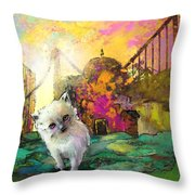 I Think I Am Lost Throw Pillow