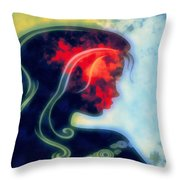 I Walked Away 2 Throw Pillow by Angelina Vick