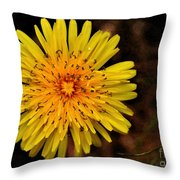 I Want To Be A Flower... Throw Pillow