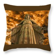 I Will Save You Throw Pillow