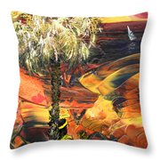 I Wish I Were There Throw Pillow