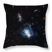 I Zwicky 18 Galaxy Throw Pillow