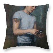 Ian 2009 Throw Pillow