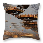 Icarus' New Wings Throw Pillow