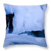 Ice 18 Throw Pillow