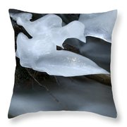 Ice 3 Throw Pillow