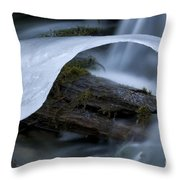 Ice 5 Throw Pillow