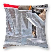 Ice Cold Ny Throw Pillow
