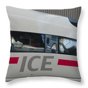 Ice Germany Throw Pillow