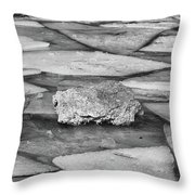 Ice Puzzle Holding Throw Pillow