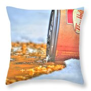 Iced Cap Throw Pillow