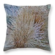 Iced In I Throw Pillow
