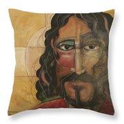 icon no 4 revision A Throw Pillow