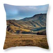 Idaho Foothills Throw Pillow