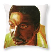 Idrissa Ouedraogo Throw Pillow