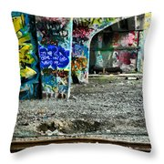 If Art Is A Crime May God Forgive Me Throw Pillow
