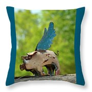 If Pigs Could Fly Throw Pillow