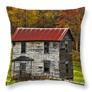 If These Walls Could Talk Painted Throw Pillow