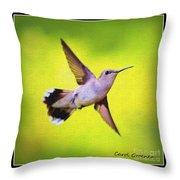 If Wishes Had Wings Throw Pillow