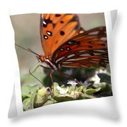 If You Need Me - Butterfly Throw Pillow