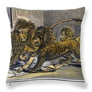 Ignatius Of Antioch (c35-110) Throw Pillow