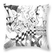 Ignorance And Bliss Throw Pillow