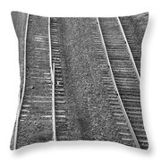 I'll Switch No More Bw Throw Pillow