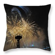 Illuminations Of The World Showcase Throw Pillow