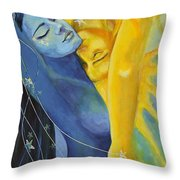 Ilusion From Impossible Love Series Throw Pillow by Dorina  Costras