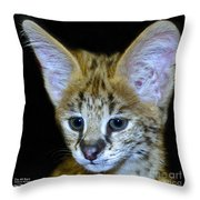 Im All Ears Throw Pillow