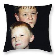 I'm Behind You Throw Pillow