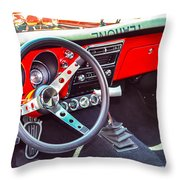 I'm Driving Throw Pillow