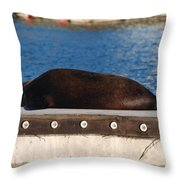 Im Working Out Throw Pillow