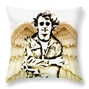Imagine There's No Heaven Throw Pillow