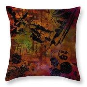 Imagining The Orient II Throw Pillow
