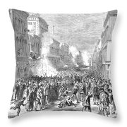Immigrants: Chinese, 1871 Throw Pillow