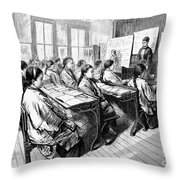 Immigrants: Chinese, 1876 Throw Pillow