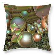 Immune Response Throw Pillow