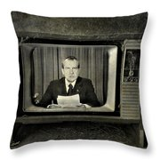 Impeached Network  Throw Pillow