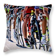 In A Line Throw Pillow