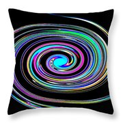 In A Whirl Throw Pillow