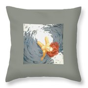 In An Awards Wings Throw Pillow