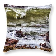 In-coming Tide Throw Pillow