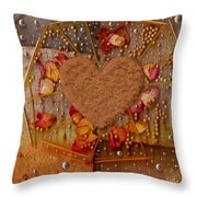 In Cookie And Bread Style Throw Pillow