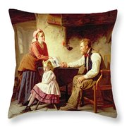 In Disgrace Throw Pillow